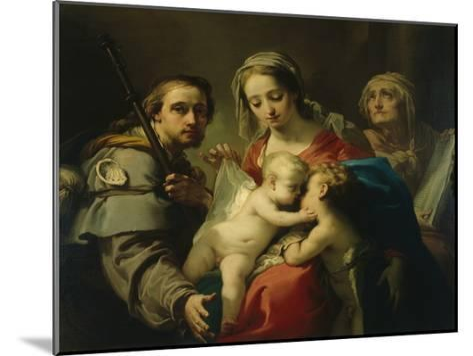 Madonna and Child-Gaetano Gandolfi-Mounted Giclee Print