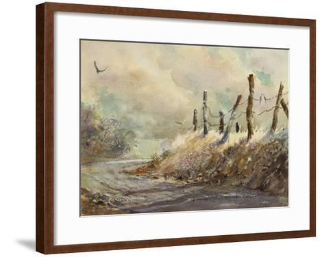 Posts in Sunshine-LaVere Hutchings-Framed Art Print