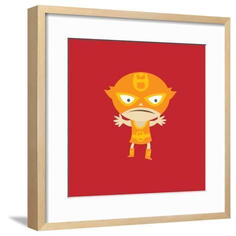 El Fuego--Framed Art Print