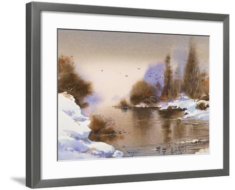 Dusk-LaVere Hutchings-Framed Art Print
