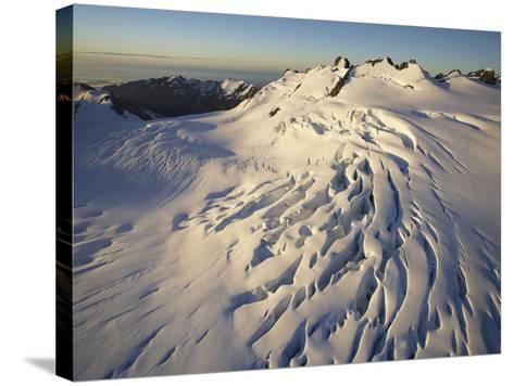 Fox Glacier-Paul Souders-Stretched Canvas Print