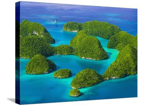 Rock Islands-Bob Krist-Stretched Canvas Print