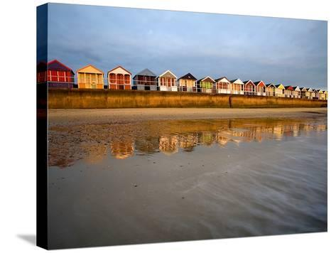 Southwold Beach Huts-Marc Bedingfield-Stretched Canvas Print