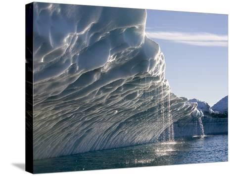 Melting Icebergs, Ililussat, Greenland-Paul Souders-Stretched Canvas Print