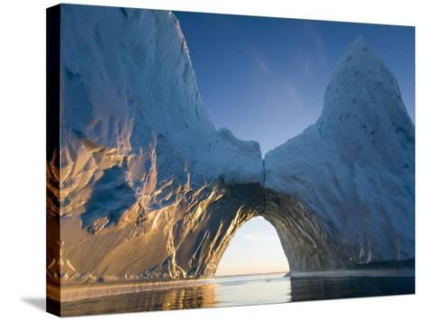 Arched Iceberg in Ililussat-Paul Souders-Stretched Canvas Print