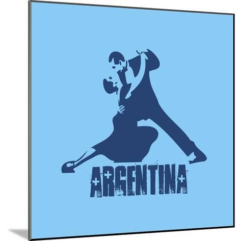 Argentina--Mounted Giclee Print