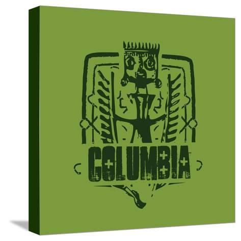 Columbia--Stretched Canvas Print