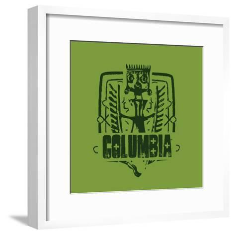 Columbia--Framed Art Print