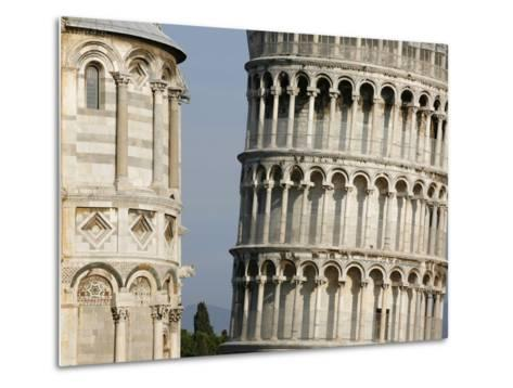 Cathedral and Leaning Tower of Pisa-Fred de Noyelle-Metal Print