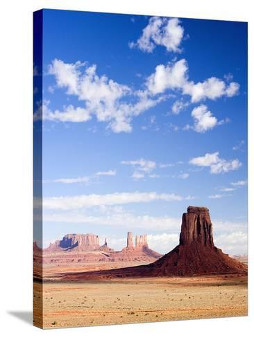 Buttes in Monument Valley-Jos? Fuste Raga-Stretched Canvas Print