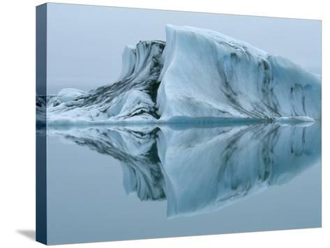 Jokulsarlon Glacier Lake-Micha Pawlitzki-Stretched Canvas Print
