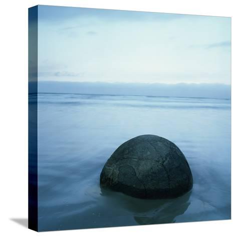Moeraki Boulders-Micha Pawlitzki-Stretched Canvas Print
