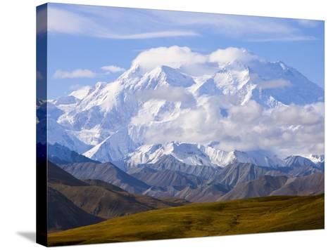 Mount McKinley-John Eastcott & Yva Momatiuk-Stretched Canvas Print