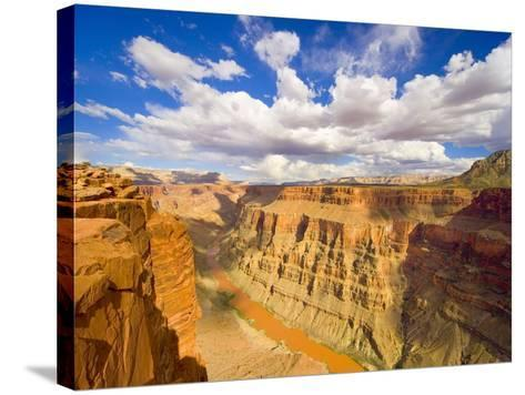 Grand Canyon and Colorado River-John Eastcott & Yva Momatiuk-Stretched Canvas Print