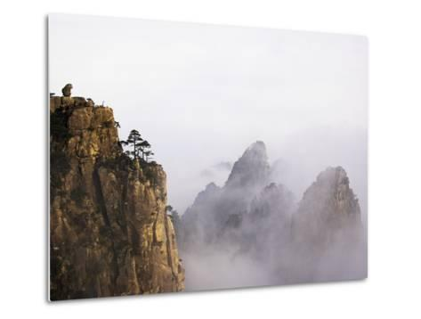 Mountains and Fog-Frank Lukasseck-Metal Print