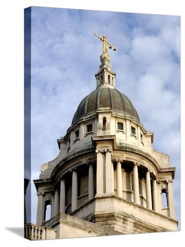 Dome of Old Bailey-Eric Nathan-Stretched Canvas Print