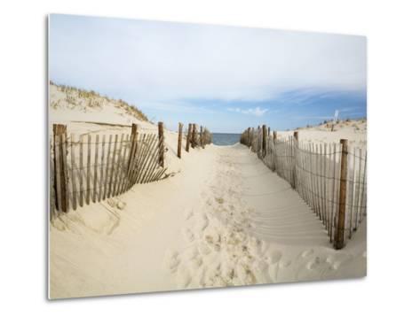 Quiet Beach-Stephen Mallon-Metal Print