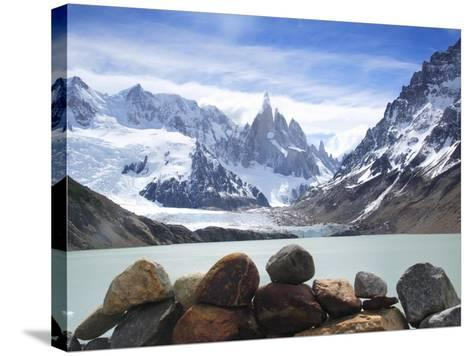 Lake Torre in Los Glaciares National Park-Frank Lukasseck-Stretched Canvas Print