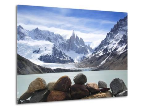 Lake Torre in Los Glaciares National Park-Frank Lukasseck-Metal Print
