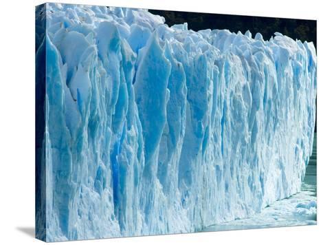 Rough Surface of Perito Moreno Glacier-John Eastcott & Yva Momatiuk-Stretched Canvas Print