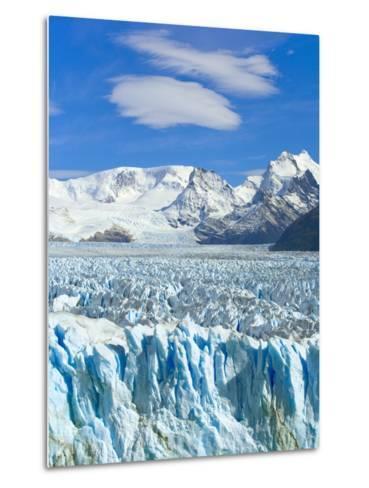 Perito Moreno Glacier and Patagonian Andes-John Eastcott & Yva Momatiuk-Metal Print