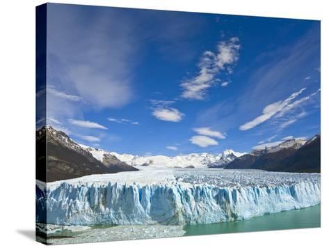 Perito Moreno Glacier and Patagonian Andes-John Eastcott & Yva Momatiuk-Stretched Canvas Print