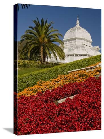 Golden Gate Park Conservatory-Richard Nowitz-Stretched Canvas Print