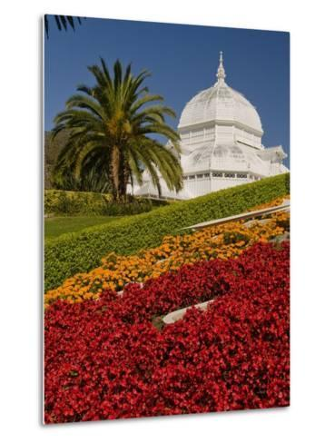 Golden Gate Park Conservatory-Richard Nowitz-Metal Print