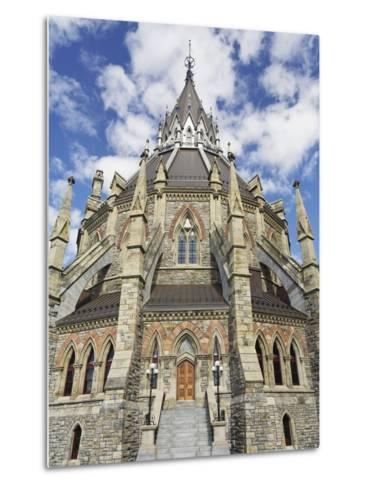 Library of Parliament in Ottawa-William Manning-Metal Print