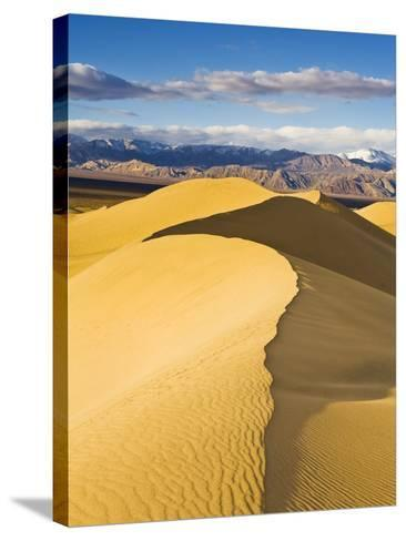 Sand Dunes in Death Valley-Rudy Sulgan-Stretched Canvas Print