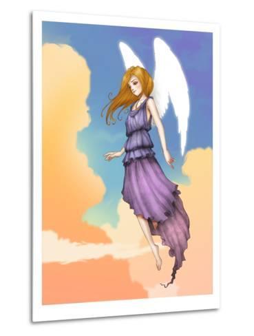 Angel In The Clouds-Harry Briggs-Metal Print