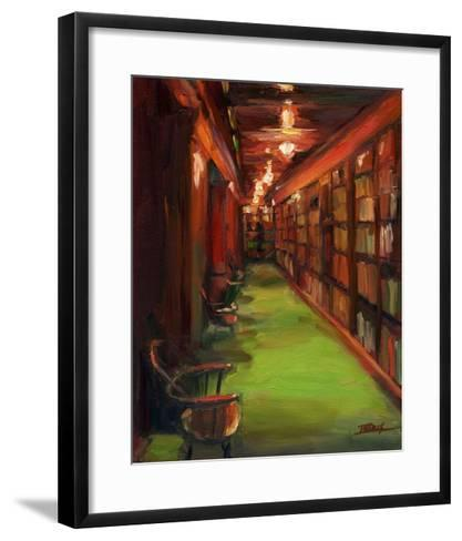 Knowledge Alley-Pam Ingalls-Framed Art Print