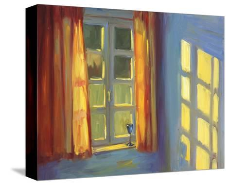 Anne's Window-Pam Ingalls-Stretched Canvas Print