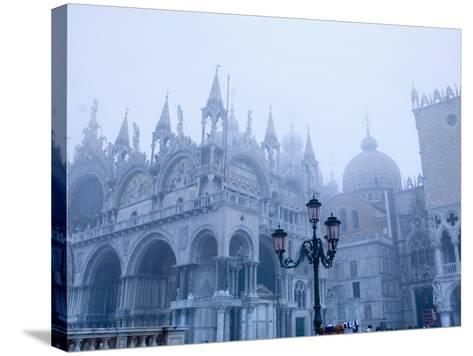 Fog Over the Basilica of San Marco in Venice--Stretched Canvas Print