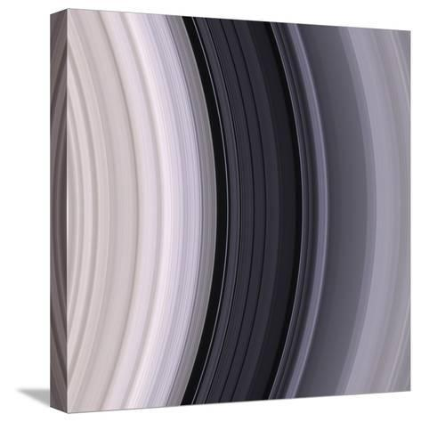 Saturn's Rings-Michael Benson-Stretched Canvas Print