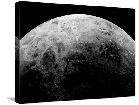 Radar View of the Southern Hemisphere of Venus-Michael Benson-Stretched Canvas Print
