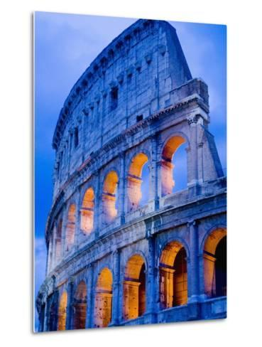 Colosseum at Dusk-Bob Krist-Metal Print