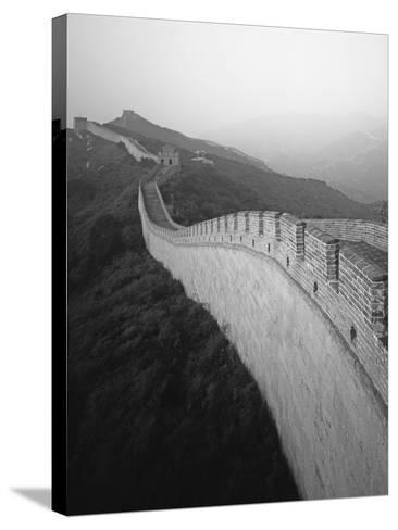 The Great Wall of China-George Hammerstein-Stretched Canvas Print