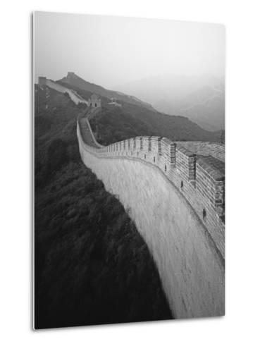 The Great Wall of China-George Hammerstein-Metal Print