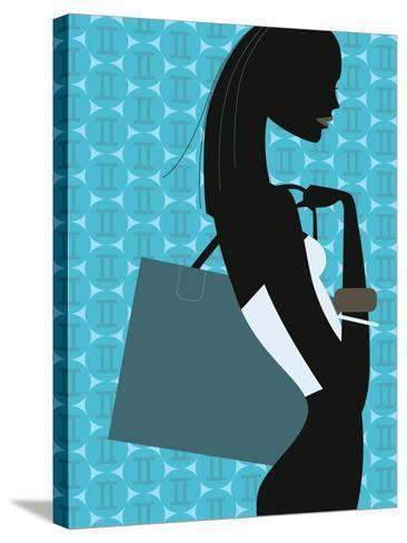 Stylish Woman--Stretched Canvas Print