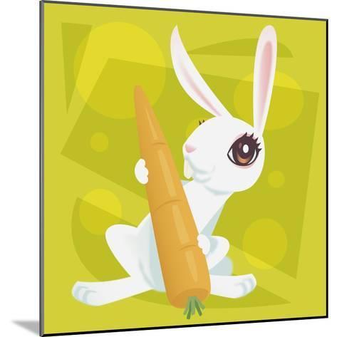 Anime Rabbit-Harry Briggs-Mounted Giclee Print