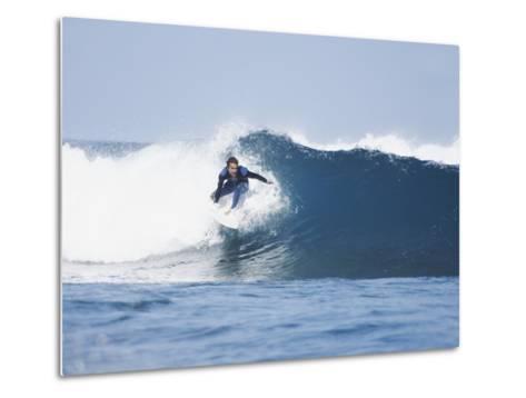 Surfer-Olivier Cadeaux-Metal Print