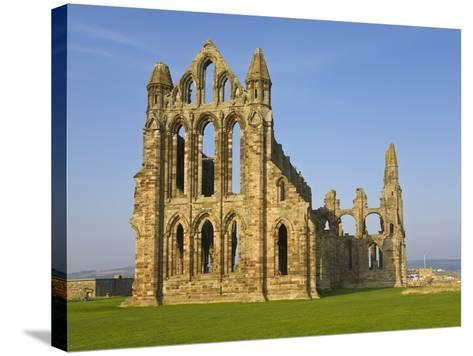 Ruins of Whitby Abbey in North Yorkshire-Paul Thompson-Stretched Canvas Print