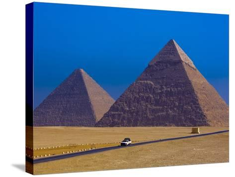 Great Pyramids of Giza-Blaine Harrington-Stretched Canvas Print