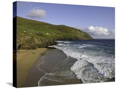Coumeenoole Beach and Slea Head-Doug Pearson-Stretched Canvas Print