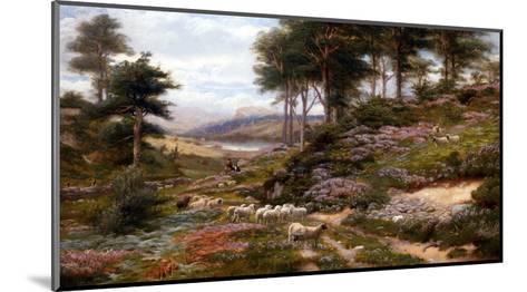 Through the Heather, Dunkeld, Scotland, United Kingdom-George Vicat Cole-Mounted Giclee Print