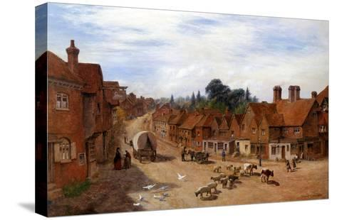 Haslemere, Surrey, England-George Vicat Cole-Stretched Canvas Print