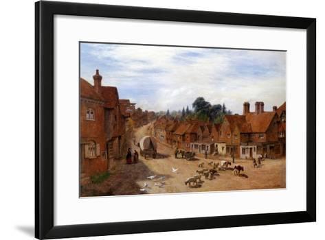 Haslemere, Surrey, England-George Vicat Cole-Framed Art Print
