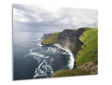 Cliffs of Moher-Tom Hanslien-Metal Print