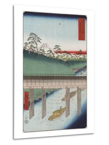 Ochanomizu in the Eastern Capital-Ando Hiroshige-Metal Print